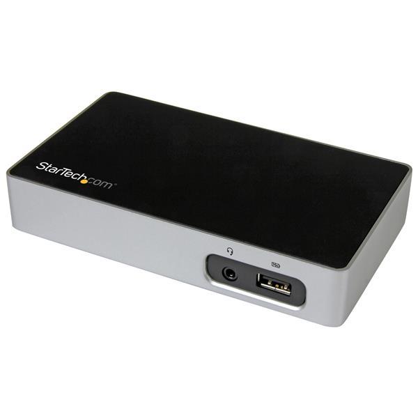 StarTech.com Replicador de Puertos DVI a USB 3.0 para Ordenadores Portátiles