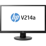 "HP V214a 20.7"" Full HD LED Black computer monitor"