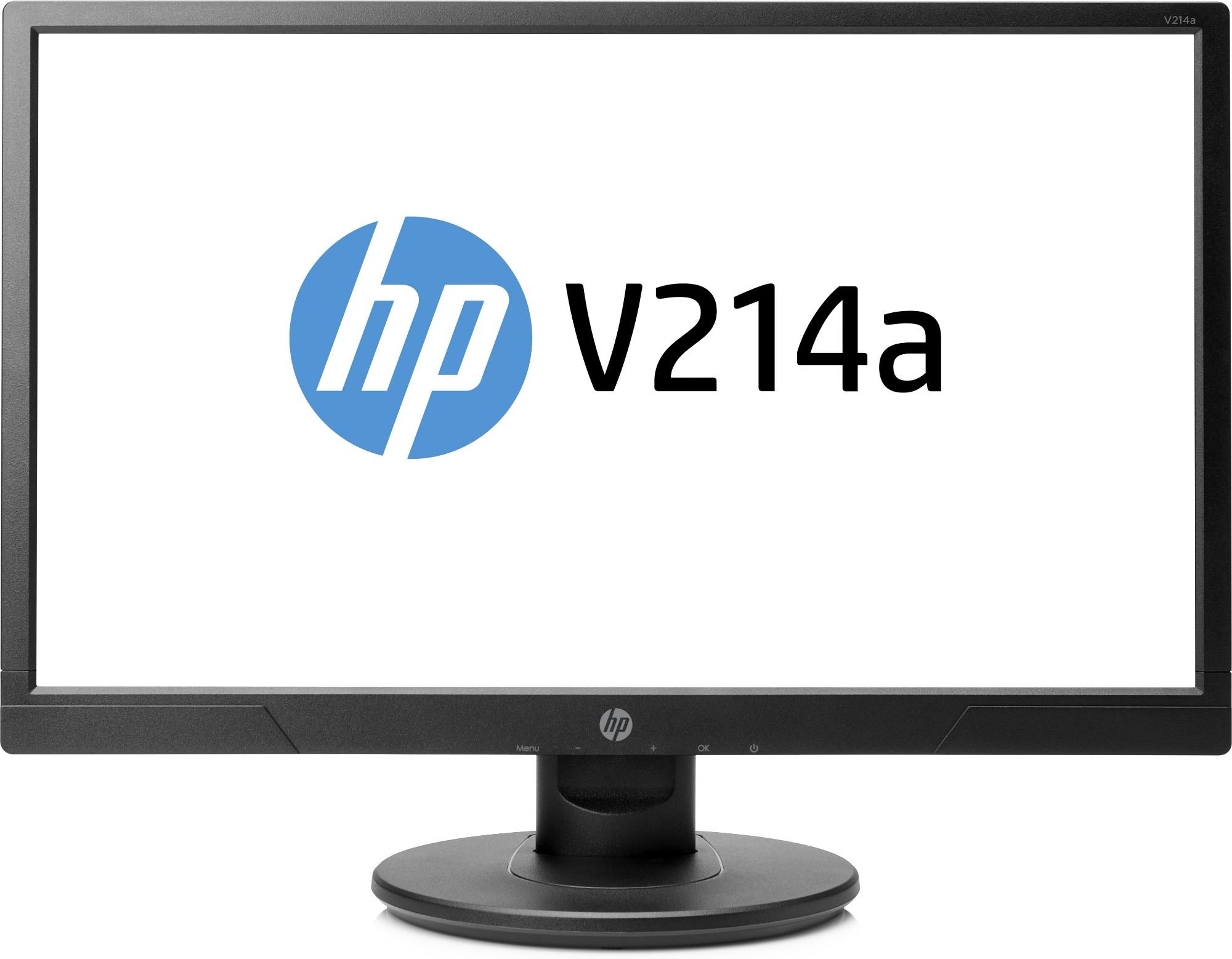 "HP V214a LED display 52.6 cm (20.7"") Full HD Flat Black"
