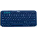 Logitech K380 Bluetooth Blue mobile device keyboard