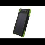 Generic 8000mAh Weatherproof Power Bank with Solar Recharging