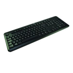 2-Power ALT3219A keyboard USB QWERTY UK English Black