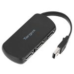Targus ACH114EU interface hub USB 2.0 480 Mbit/s Black