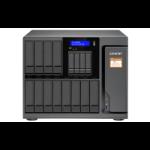 QNAP TS-1635AX Ethernet LAN Tower Black NAS