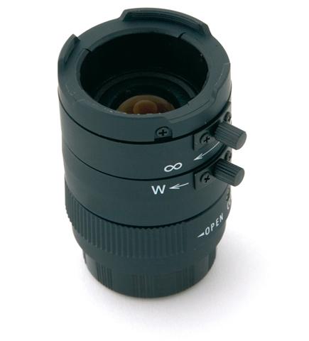 Mobotix MX-OPTCS-L24-54 Standard lens Black camera lense
