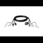 ATEN HDMI to DVI-D USB USB KVM Cable with Audio; 1,8M USB HDMI to DVI-D