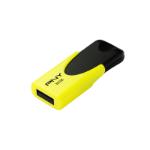 PNY N1 Attaché 32GB 32GB USB 2.0 USB Type-A connector Black, Yellow USB flash drive