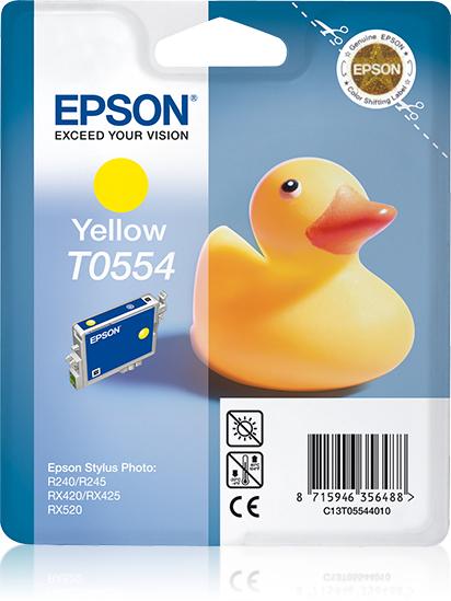 Epson Duck T0554 Original Gelb 1 Stück(e)