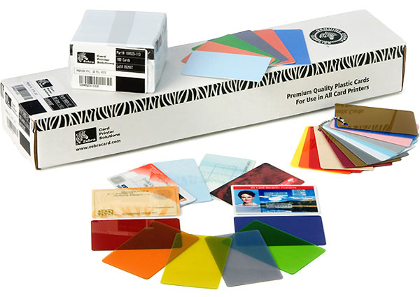 Zebra Premier PVC 40mil (350) business card 350 pc(s)