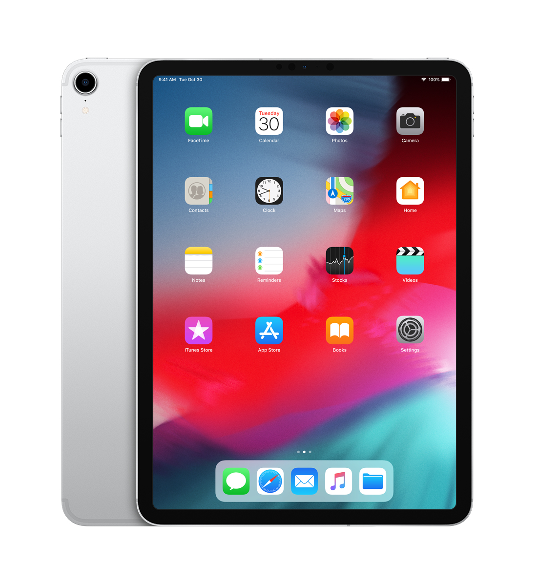 iPad Pro 2018 - 11in - Wi-Fi + Cellular - 1TB - Silver