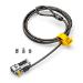 Kensington ClickSafe Universal Combination Laptop Lock cable antirrobo Negro, Metálico 1,8 m