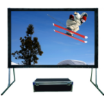 Sapphire - Rapid Fold - 203cm x 152cm - 4:3 Fast Fold Projector Screen - Front Projection Complete