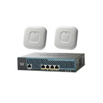 Cisco 2 x Aironet 1700 + 2504 Wireless Controller + 25 access point licenses
