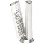 TELEFONO INALAMBRICO PANASONIC KX-TGK210 DECT 120 CANALES CON IDENTIFICADOR DE LLAMADAS BLANCO dir