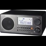 Sangean Digital Table-Top Radio Personal Digital Black Clock/Portable Radio