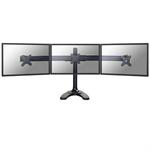 "Newstar FPMA-D700DD3 27"" Black flat panel desk mount"