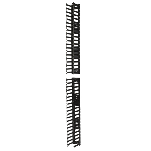 APC AR7580A Straight cable tray Black