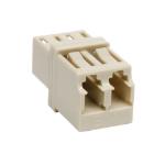 Tripp Lite Duplex Multimode Fiber Optic Coupler Adapter (LC/LC)