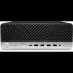 HP ProDesk 600 G3 3.4GHz i5-7500 SFF Black, Silver PC
