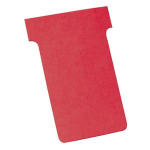 Nobo T-Cards Size 2 Red (100)