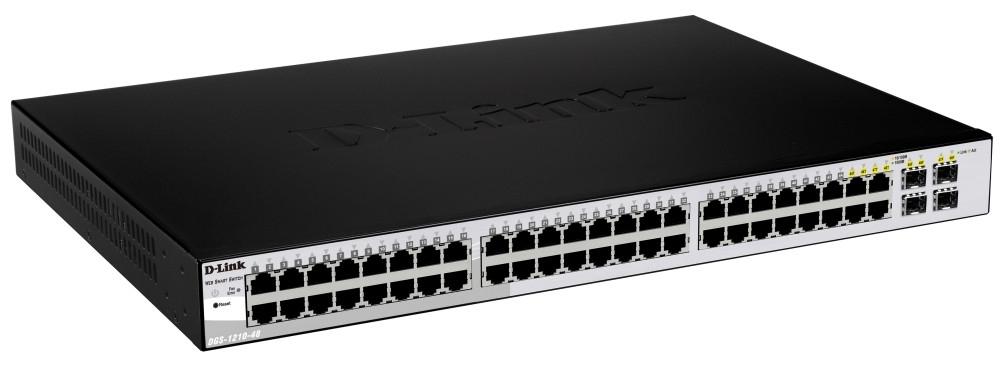 D-Link DGS-1210-48 switch Gestionado L2 Negro