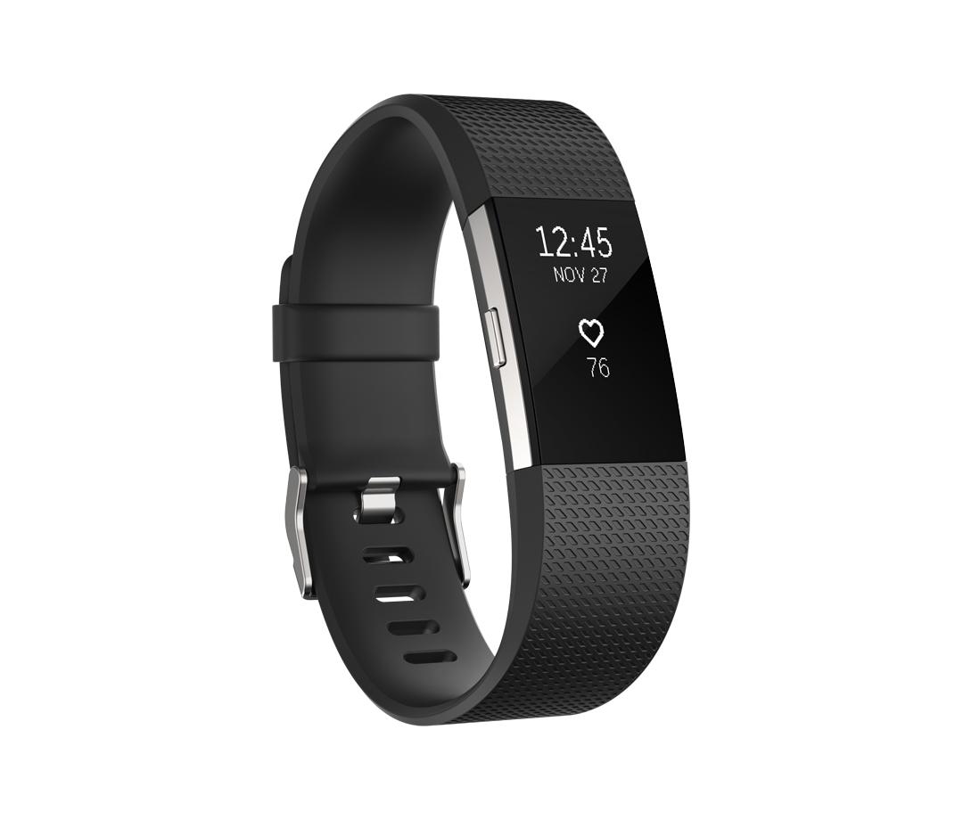 Fitbit Charge 2 Pulsera de actividad Negro OLED