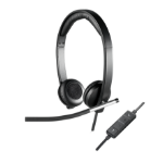 Logitech H650E Headset Head-band Black,Silver