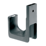 Panduit JP2W-L Wall Cable holder Black 1pc(s) cable organizer