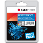 AgfaPhoto APHP364SETXLDC ink cartridge Black, Cyan, Magenta, Yellow 550 pages 820 pages