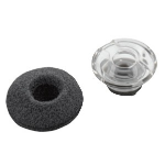 Plantronics 89037-02 Black,Transparent ear plug