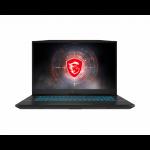 "MSI Crosshair 17 A11UCK-203 Notebook 17.3"" Full HD 11th gen Intel® Core™ i7 16 GB DDR4-SDRAM 512 GB SSD NVIDIA GeForce RTX 3050 Wi-Fi 6 (802.11ax) Windows 10 Home Gray"