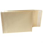 New Guardian Armour Envelopes Peel And Seal Gusset 50mm 130gsm Kraft Manilla C4 [Pack 100]