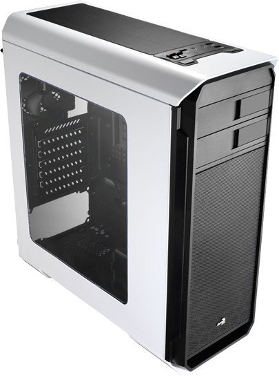 Case Aero-500 En55583 Midi-tower Black, White