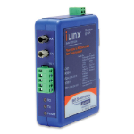 IMC Networks FOSTCDRI RS-232/422/485 Fiber (ST) Blue serial converter/repeater/isolator