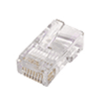 Cablenet 22 2069 RJ-45 Transparent wire connector