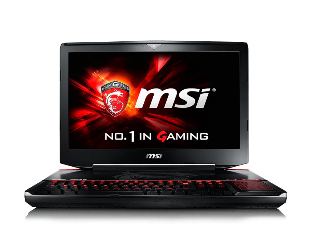 """MSI Gaming GT80S 6QE(Titan SLI)-039UK 2.6GHz i7-6700HQ 18.4"""" 1920 x 1080pixels Black"""