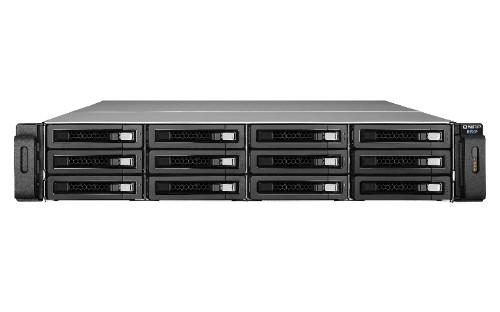 QNAP REXP-1220U-RP disk array 96 TB Rack (2U) Black