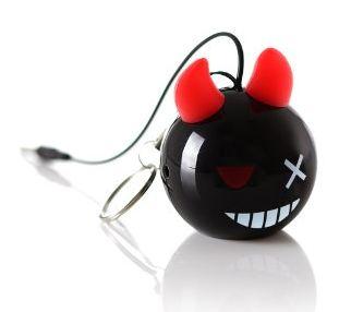 KitSound KSNMBDB Mono portable speaker 2W Black, Red