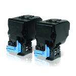 Epson Double Toner Cartridge Pack Black 6kx2