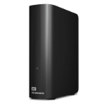 WESTERN DIGITAL WD Elements Desktop 4TB USB 3.0 3.5' External Hard Drive - Black Plug & Play Formatted NTFS for Wind