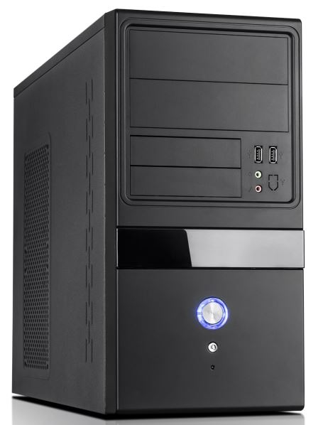 "Aywun 204 Matx Builder""s Case With 500w Max Psu 24pin Atx, 8pin Pes, 1x Usb3+1x Usb2 Front Audio"