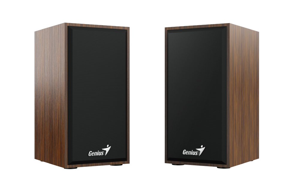 Genius SP-HF180 2-way 6 W Black, Wood Wired