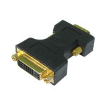 Cables Direct VGA to DVI-A Adaptor Black