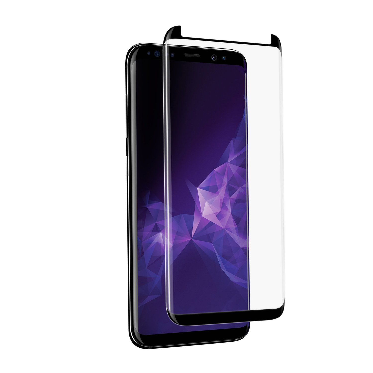 NVS Atom Glass for Galaxy S9 Plus  HD Glass Screen Protector