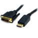 StarTech.com 6 ft DisplayPort to DVI Cable - M/M