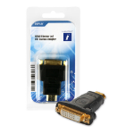 Innovation IT 1A 354157 DISPLAY video cable adapter HDMI Type A (Standard) DVI Black,Gold