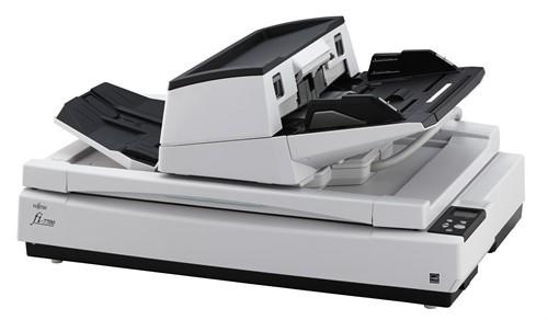 Fujitsu fi-7700 600 x 600 DPI Flatbed & ADF scanner Black,White A3