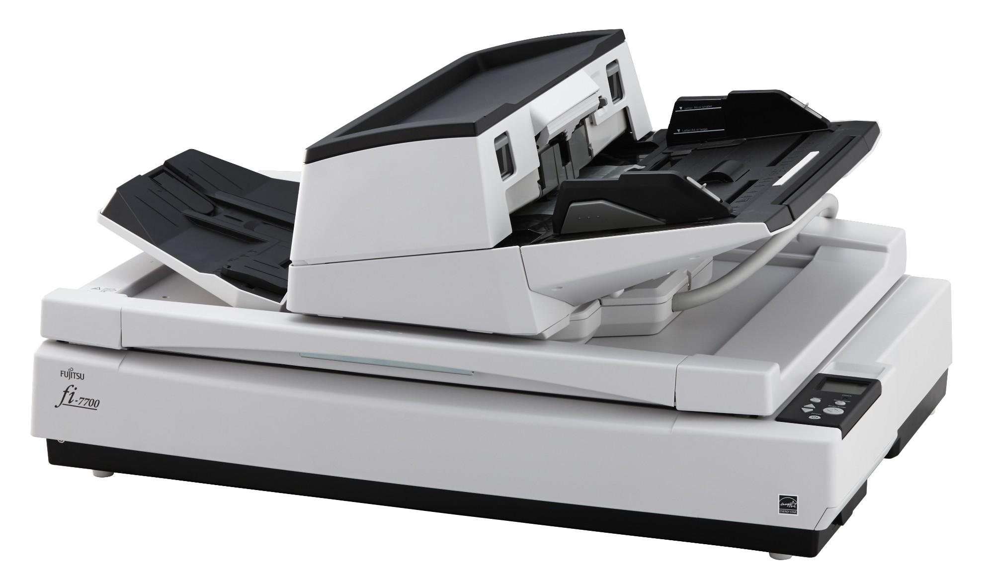 Fujitsu fi-7700 Flatbed & ADF 600 x 600DPI A3 Black,White PA03740-B001
