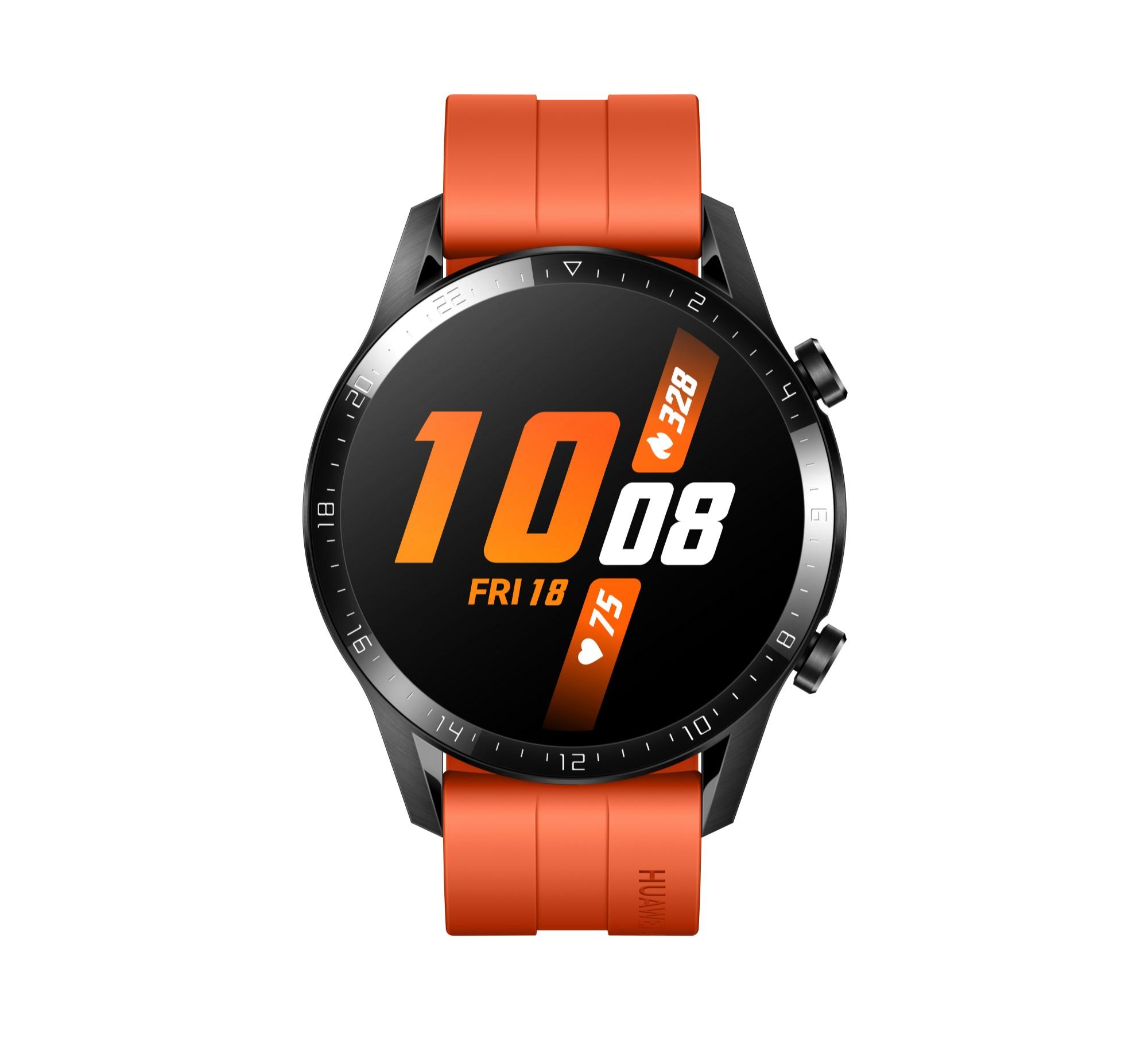 Huawei WATCH GT 2 smartwatch Black AMOLED 3.53 cm (1.39