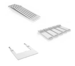 Zebra KT-MC18-CSTKIT-01 accesorio para dispositivo de mano Blanco